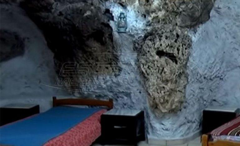 Στην Κρήτη νοικιάζουν Αirbnb σπηλιές όπου ζούσαν… λεπροί – Διαθέτουν και τζακούζι (βίντεο)
