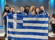 Χρυσά και χάλκινα στο παγκόσμιο πρωτάθλημα pole και aerial sport