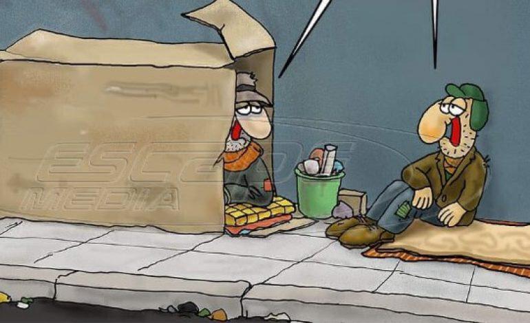 Κορωνοϊός: Το σκίτσο-γροθιά του Αρκά για όσους δεν μένουν σπίτι
