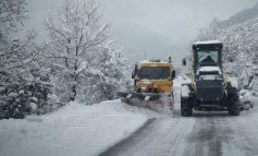 Τρίκαλα: Βροχές, χιόνια, κατολισθήσεις και διακοπή κυκλοφορίας