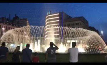 Η πλατεία όπως παλιά: Το σιντριβάνι επέστρεψε στην Ομόνοια