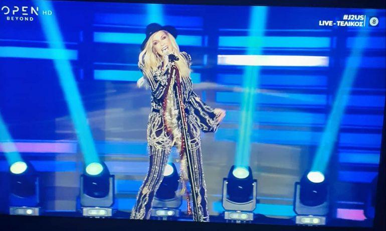 Η απόλυτη ελληνίδα star live στις οθόνες μας!