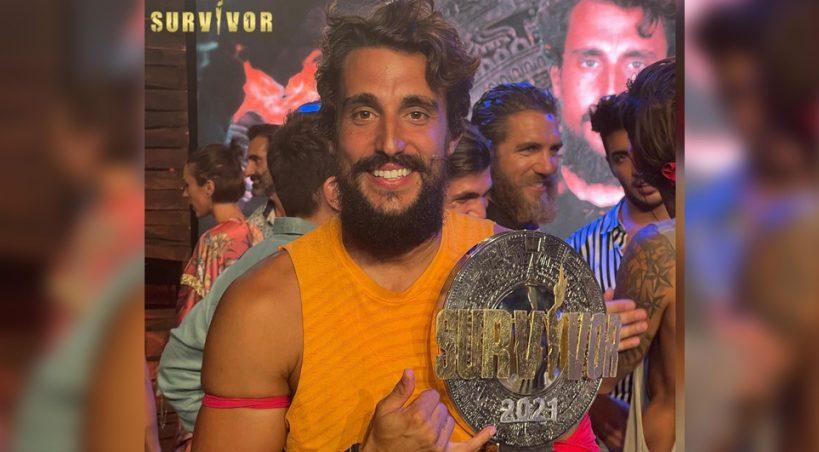 Νικητής SURVIVOR 2021 ο Σάκης Κατσούλης !