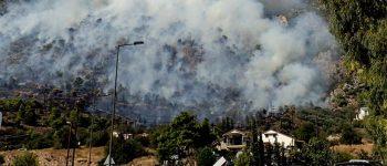 5 μεγάλες φωτιές στην Ελλάδα: Δύσκολη η κατάσταση σε Εύβοια και Κω